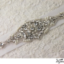 130x130 sq 1370219914542 bridal sash rhinestone applique viogemini