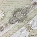 130x130 sq 1370220199245 bridal garter white wedding garter set garterqueen 3