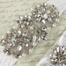 130x130 sq 1370220211056 bridal garter wedding garter set white lace garterqueen 2