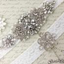 130x130 sq 1370220243732 bridal garter wedding garter set white lace garterqueen 5