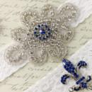 130x130 sq 1370220254013 bridal garter wedding garter set white lace garterqueen