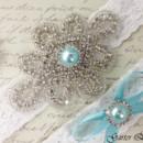 130x130 sq 1370220264863 bridal garter wedding garter set white lace garterqueen 2