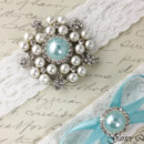 130x130 sq 1370220275316 bridal garter wedding garter set white lace garterqueen 3