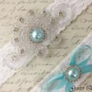 130x130 sq 1370220291710 bridal garter wedding garter set white lace garterqueen 2