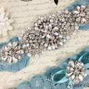 130x130 sq 1370220411010 bridal garter wedding garter set stretch lace crystal applique garterqueen 4