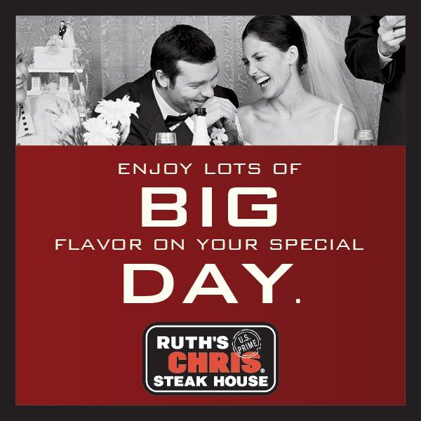 Ruth 39 S Chris Steak House Rehearsal Dinner Garden City Ny Weddingwire
