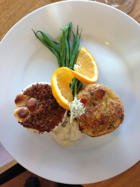 1420931350405 Crab Stuffed Trout And Sweet Potato Souffle Savannah wedding catering