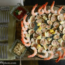 220x220 sq 1513530388488 wedding justin and ashley seafood plate