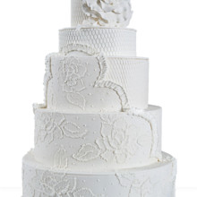 220x220 sq 1489075617188 white wedding cake   wh