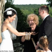 220x220 sq 1454569272386 ct officiant zita christian prepares handfasting f