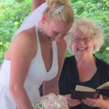 220x220 sq 1483391559721 ct officiant zita christian shares a funny moment