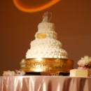 130x130 sq 1402791636783 4 tiered cake gold