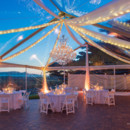 130x130 sq 1418329740063 clear jumbotrac with draping twinkle lights chande