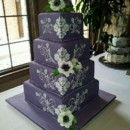 130x130 sq 1374538625870 purple wedding cake