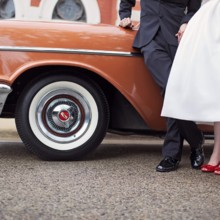 220x220 sq 1487719291486 le cape weddings   cara and mikes   50s themed wed