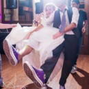 130x130 sq 1418062329124 bride and groom purple converse
