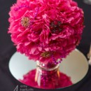 130x130 sq 1418062393268 pink flower centerpiece