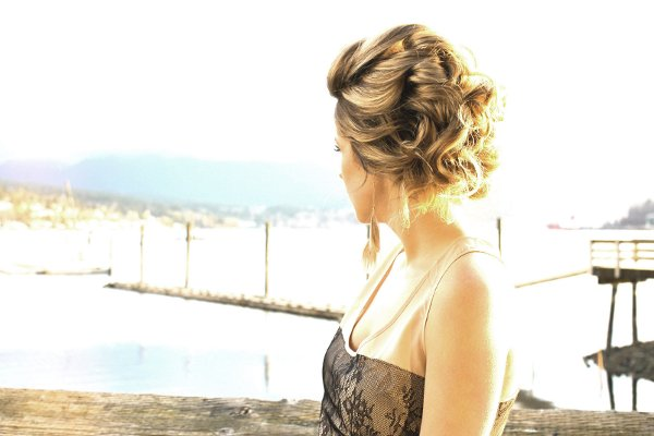 photo 10 of a la Mode UpDo's: Vancouver Wedding Hair Stylist
