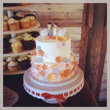 Sugar Shack Bakery - Wedding Cake