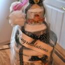 130x130 sq 1367389557659 towel cake 2