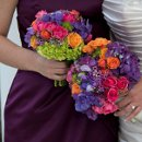 130x130 sq 1363714950852 bridesvs.bridesmaidsbouquet