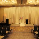 130x130 sq 1424741768621 ceremony fabric backdrop trussdoubletree by hilton