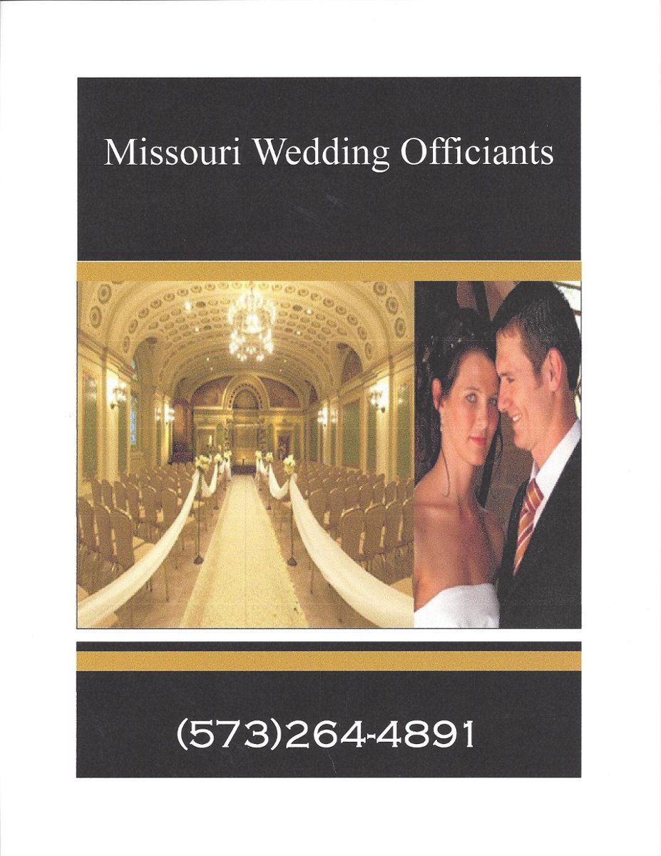 Missouri Wedding Officiants Officiant Greater Saint