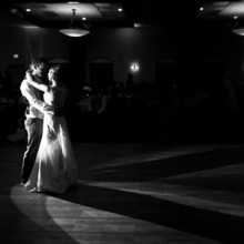 220x220 sq 1480641312181 first dance signature banquets black and white bru