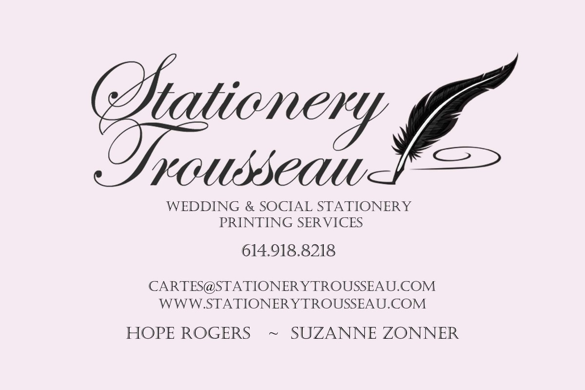 Stationery trousseau invitations westerville oh weddingwire magicingreecefo Images