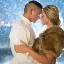 220x220 sq 1430936587428 adventurous newlyweds embrace outdoors in winter s