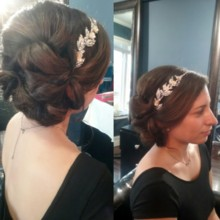 220x220 sq 1477268998906 bridal hair with headband