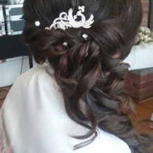 220x220 sq 1492012540973 bride side updo