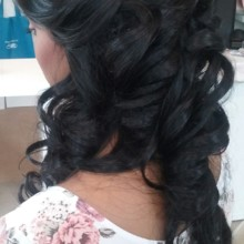 220x220 sq 1492012563226 bride side updo 2