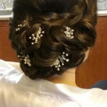 220x220 sq 1492012573206 bride side updo3