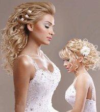 220x220 1351089395217 weddingdaylonghairstylesbridalawesomefashion2