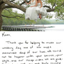 130x130 sq 1375805124021 weddingvideographythankyou051113