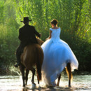 130x130 sq 1366026991585 runaway bride and groom horseback