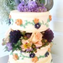 130x130 sq 1365110838501 cottage rose wedding cake