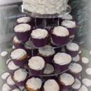 130x130 sq 1365110867292 swirl roses cupcake wedding cake 2