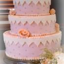 130x130 sq 1375820409645 flowers and lace fondant wedding cake
