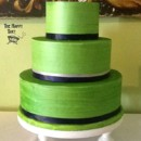 130x130 sq 1375822723814 green buttercream wedding cake