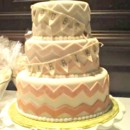 130x130 sq 1391456200261 ombre chevrons wedding cak