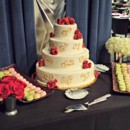 130x130 sq 1391456490700 wedding cake and macarons dessert tabl