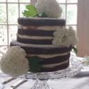 130x130 sq 1404062298852 naked wedding cake with hydrangeas