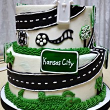 220x220 sq 1384183455117 biker wedding cake