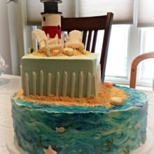 220x220 sq 1384183498812 lighthouse wedding cak
