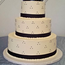 220x220 sq 1391456181969 navy triple dot wedding cak