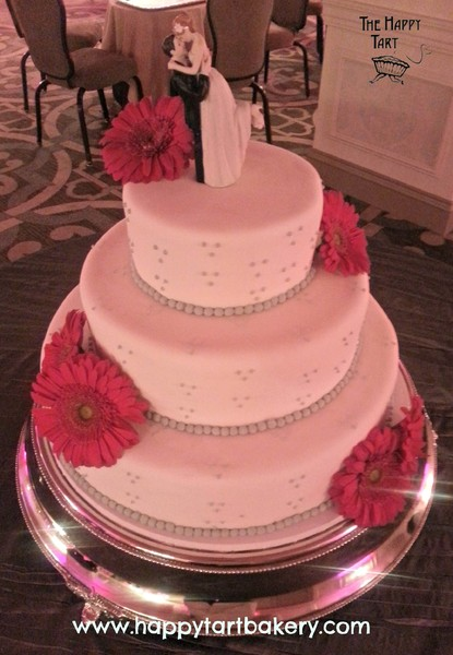 pink and grey wedding cake ideas the happy tart falls church va wedding cake 18547