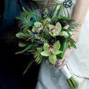 130x130 sq 1343307708886 greenfeatherbouquet