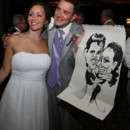 Wedding Favor: Have a caricature artist sketch you and your friends to remember your special day! (Photo by Penny Adam Sippel; Sunflower Photography)